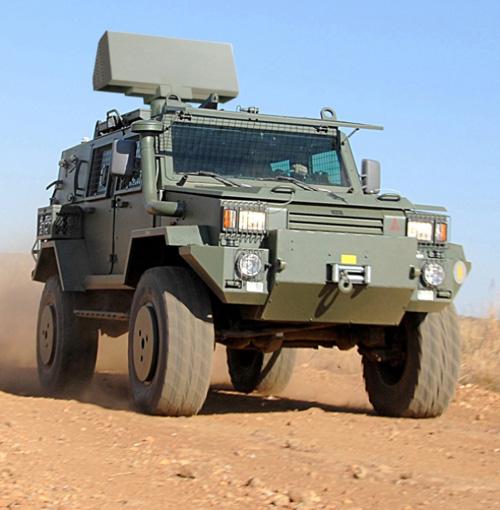 Saab Wins Order for Giraffe 1X Surface Radar System