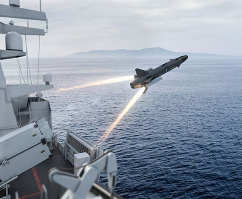 Saab to Unveil Surface Launch RBS15 Gungnir at Euronaval