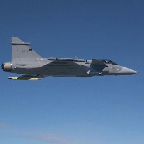 Saab's Gripen E Goes Supersonic