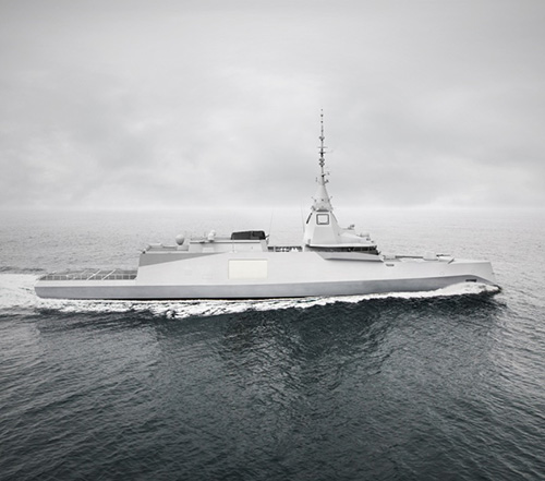 Safran's PASEO XLR to be Fitted on French Medium Frigates