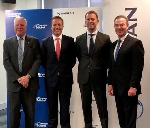 Safran Signs New Partnership Agreements with Australian Companies