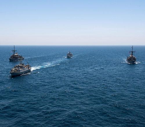 Saudi, UK, US Navies Conclude Mine-Hunting Countermeasures Training