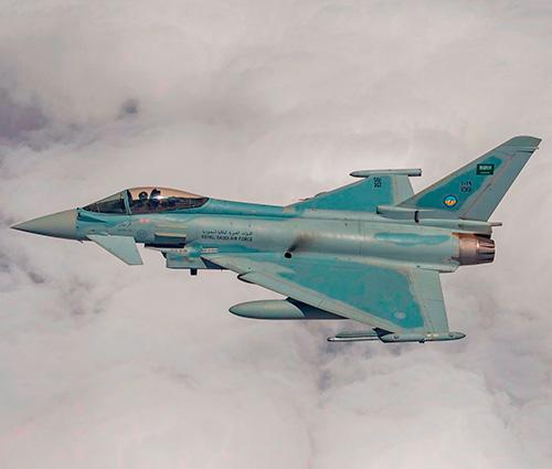 Saudi Arabia Orders 48 Additional Typhoon Fighter Jets