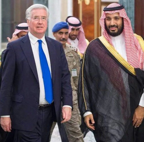 Saudi Arabia, UK Sign New Military & Security Agreement