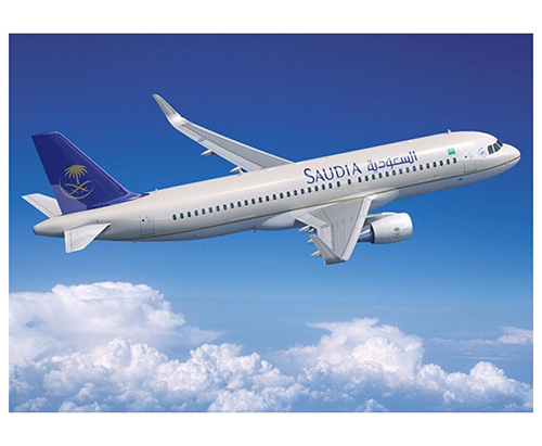 Saudi Arabian Airlines Receives New Airbus A320