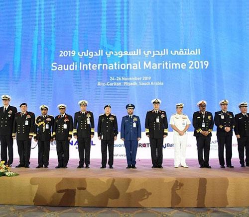 Saudi Chief of General Staff Opens Saudi Int'l Maritime Forum