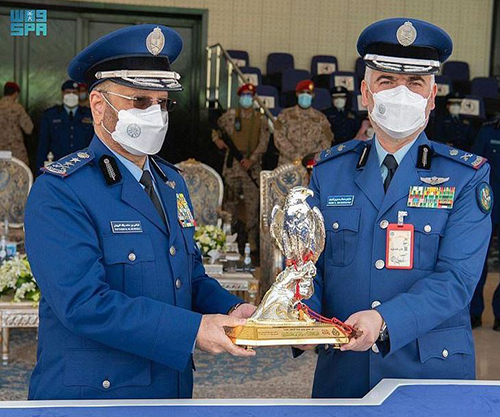 Saudi Chief of General Staff Patronizes Graduation Ceremony at King Faisal Air College