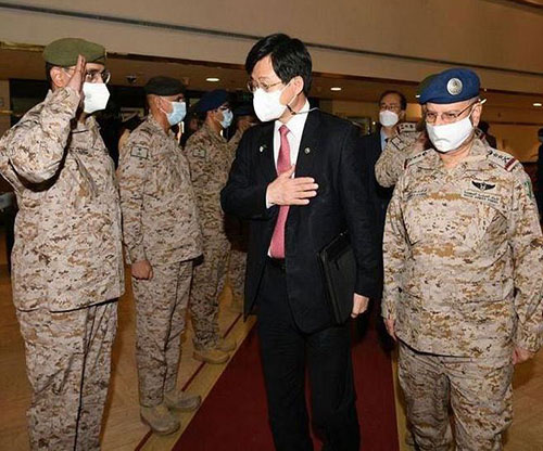 Saudi Chief of General Staff Receives South Korean Minister of Defense Acquisition