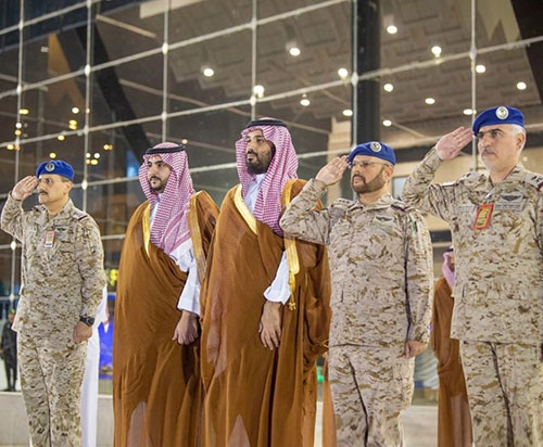 Saudi Crown Prince Patronizes Graduation Ceremony at King Faisal Air College