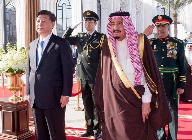 Saudi King, Chinese President Discuss Regional Issues