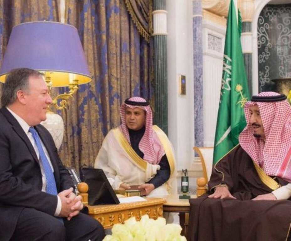 Saudi King Receives CIA Director