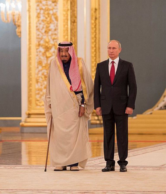Saudi King Starts Historic Visit to Russia