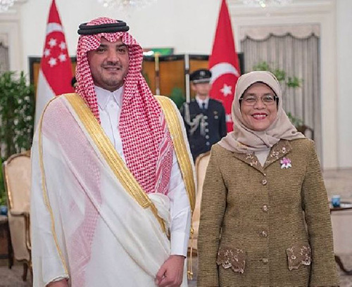 Saudi Minister of Interior Pays State Visit to Singapore