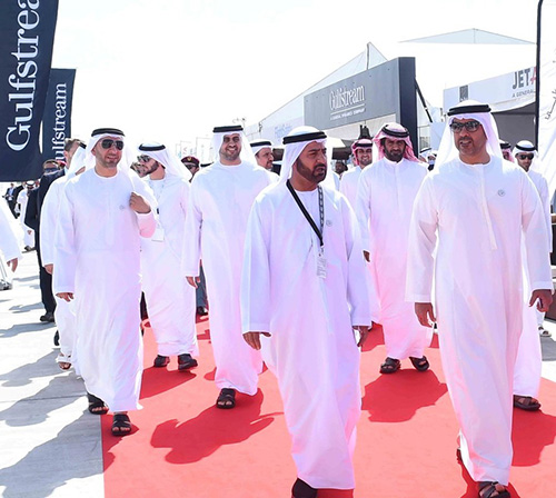 Sheikh Hamed bin Zayed Opens Abu Dhabi Air Expo 2018