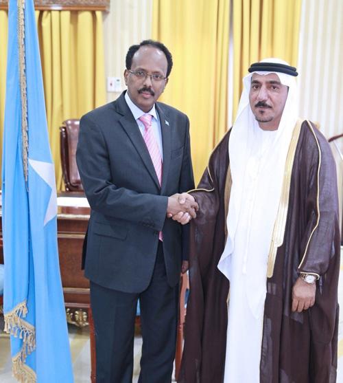 Somalian President Visits UAE Training Center in Mogadishu