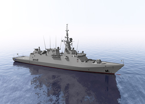 Spanish Shipbuilder NAVANTIA at IDEX & NAVDEX 2019