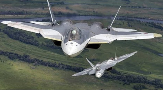 Russia's Autonomous 5th Gen Su-57 to Dominate the Skies