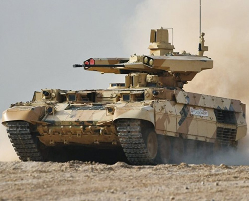 "Syria, Israel Eye Russian ""Terminator"" Combat Vehicles"