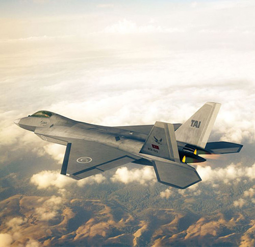 TAI Selects Dassault Systèmes for Turkey's New TF-X Aircraft