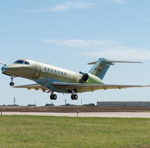 Textron Aviation's Cessna Citation Longitude at Singapore Airshow