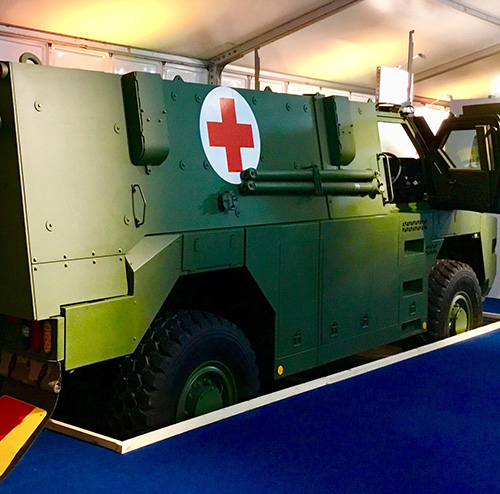 Thales Launches New Bushmaster MR6 Protected Vehicle