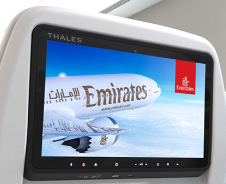 Thales Partners with Emirates for Broadband Connectivity