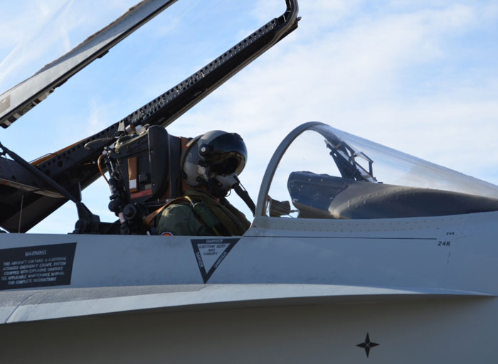 Thales to Supply Scorpion® Helmet Display for Air Force EF-18 Fighter Jets