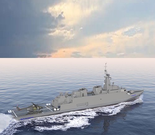 The ALFA 4000 Frigates of Navantia