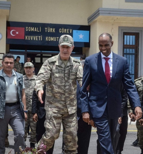Turkey Opens Biggest Overseas Military Base in Somalia