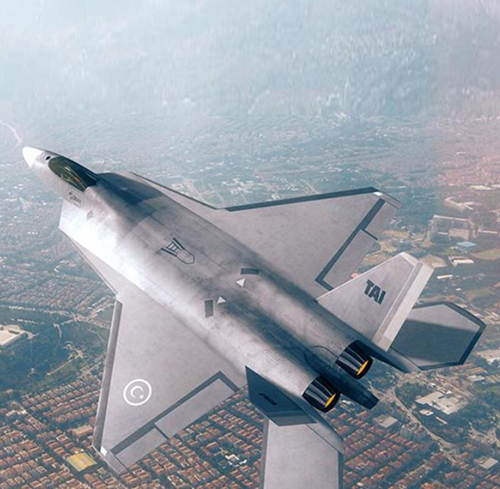 Turkish Fighter Displayed For First Time at Paris Air Show