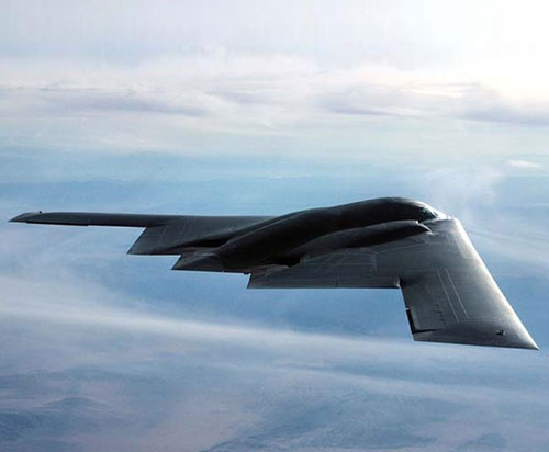 U.S. Air Force's New B-21 Stealth Bomber Under Construction