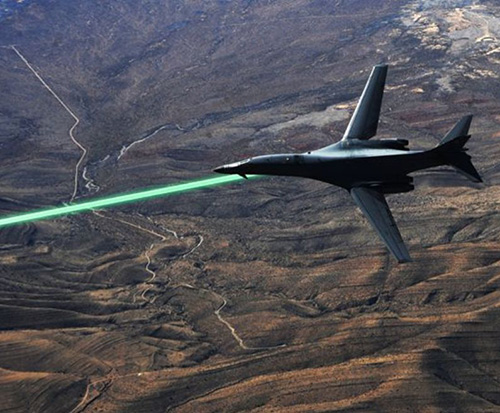 U.S. Air Force to Test Laser Weapons by 2021