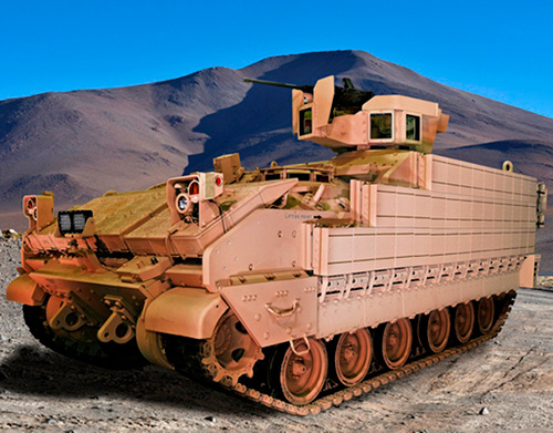U.S. Army's New Armored Multi-Purpose Vehicle (AMPV)