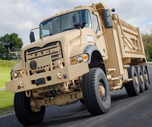 U.S. Army Orders 99 Heavy Dump Trucks from Mack Defense