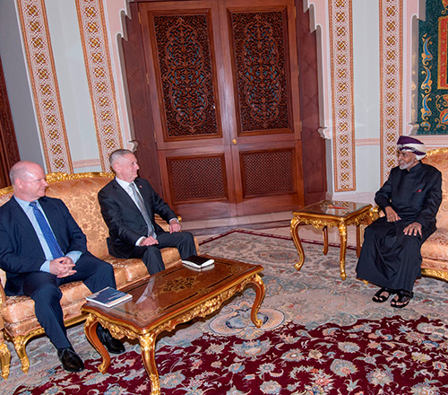 U.S. Defense Secretary Visits Oman, Bahrain