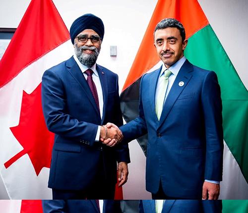 UAE, Canada Discuss Military Cooperation