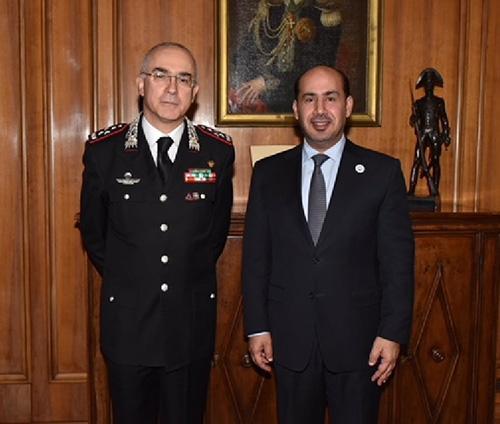 UAE, Italy Discuss Security Cooperation