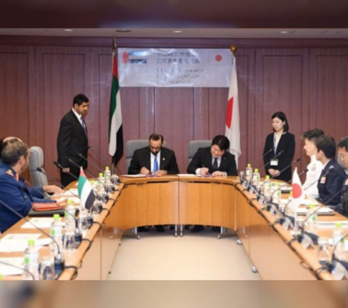 UAE, Japan Defense Ministers Sign Cooperation Agreement