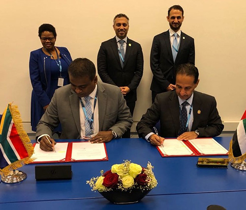 UAE, South Africa to Cooperate on Space Exploration