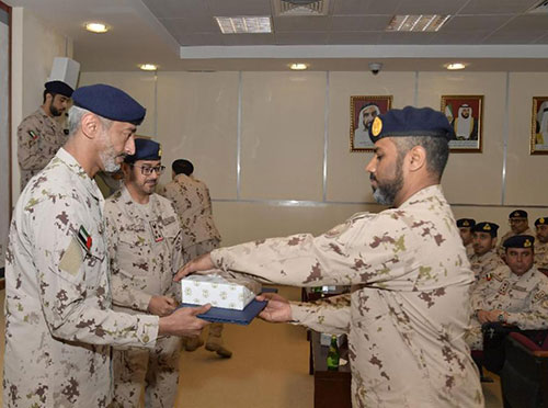 UAE Armed Forces Celebrate 43rd Unification Day