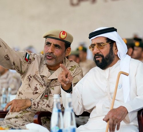 UAE Armed Forces Conduct Union Fortress 3