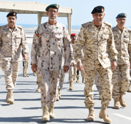 UAE Chief-of-Staff Attends Joint Drill in Bahrain