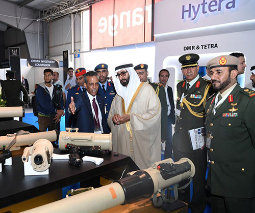 UAE Defense Minister, Chief-of-Staff Attend SOFEX 2018