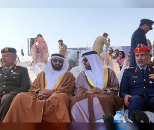 UAE Defense Minister Attends Pakistan's National Day