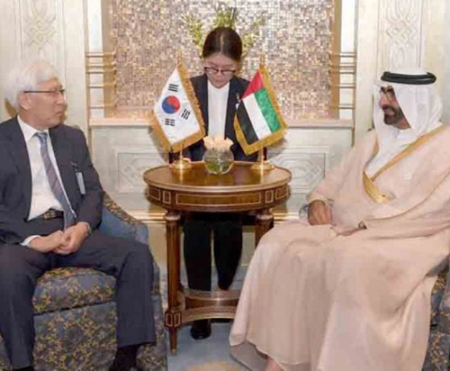 UAE Defense Minister Meets South Korean Counterpart