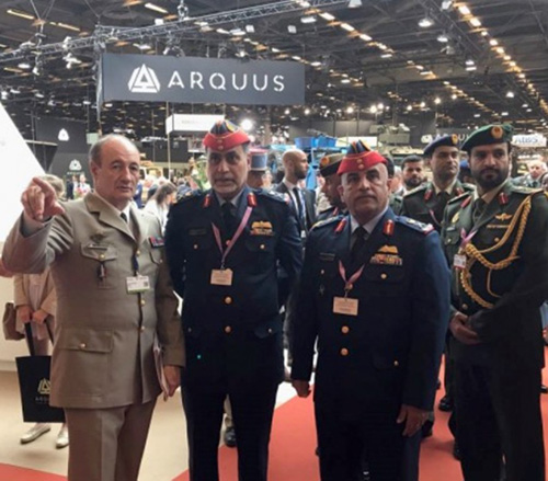 UAE Defense Ministry Delegation Attends Opening of Eurosatory