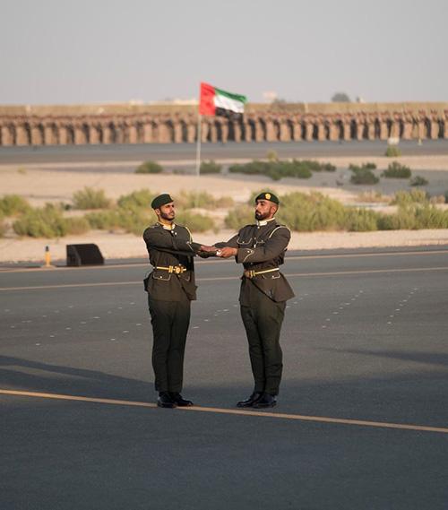 UAE Deputy Supreme Commander Attends Graduation Ceremony