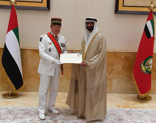 UAE Grants Military Order to French Army Chief-of-Staff