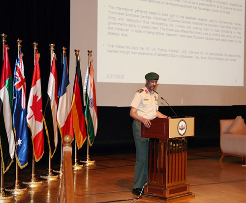 UAE Hosts 'Countering Improvised Explosives Devices' Conference