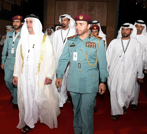 UAE Interior Minister Inaugurates ISNR Abu Dhabi 2018